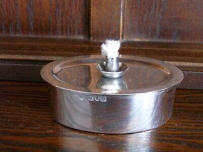 Great English Sterling Table Lighter