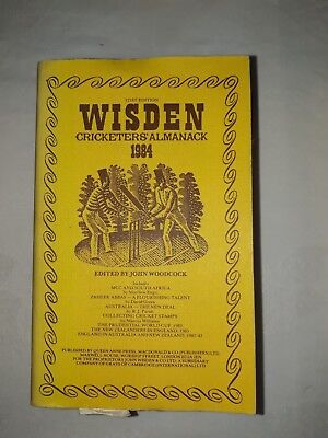 Wisdens Cricketers Almanack 1984 Softback