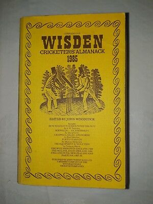 Wisdens Cricketers Almanack 1985 Softback