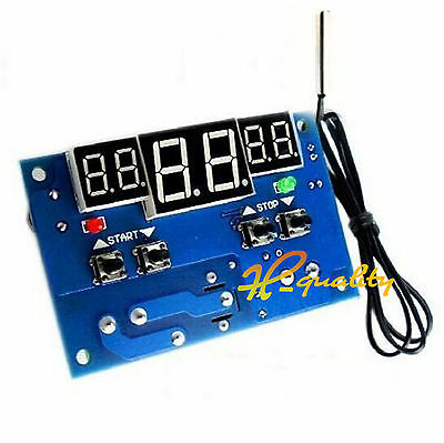 Intelligent Digital Led Thermostat 12V  -9°-99°C Temperature Controller