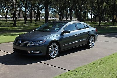 2014 Volkswagen CC Executive MSRP New $38610 One Owner Perfect Carfax Heated Leather Sport Seats Navigation Pano Roof
