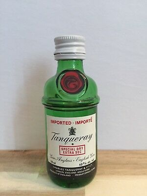 Miniature mini bottle non ouverte GIN Tanqueray 50 ml
