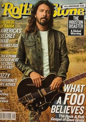 Dave Grohl Foo Fighters Rolling Stone Magazine September 21 2017 Chris Cornell