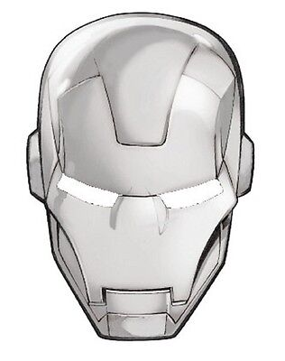 Iron Man Head Pewter Lapel Pin Marvel Comics Pin