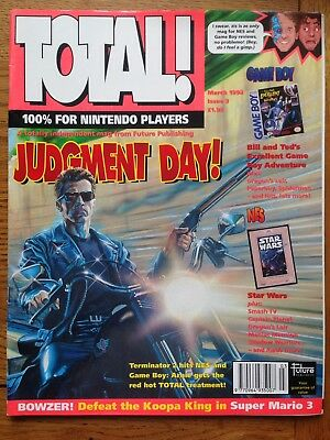 Total Nintendo Magazine Issue 3 March 1992 Judgement Day