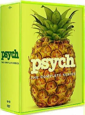 Psych: The Complete Series Seasons 1-8  Box set,  Visa/MC Pay only