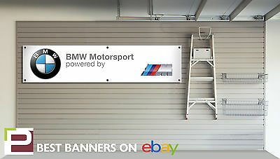 EXTRA LARGE BMW Motorsport Banner for Workshop, Garage, M3, M2, M4, e30, M3, M5