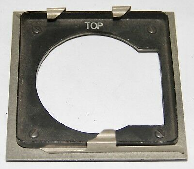Graflex Adapter Lens Board To Use Speed Graphic Boards On Graphic View Cameras