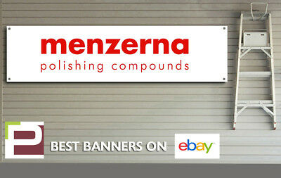 Menzerna Polish & Detailing Banner, for Workshop, Garage, Office etc