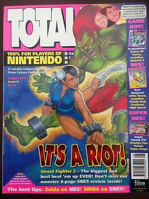 Total Nintendo Magazine Issue 8 August 1992