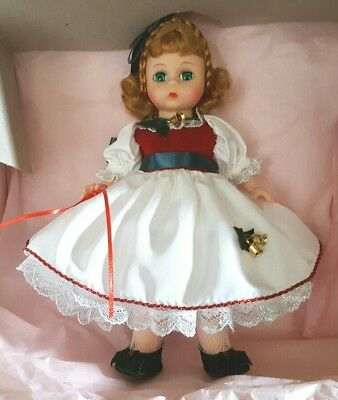 """Madame Alexander 8""""  """"belk's Holly"""" Doll ....mint In Box"""