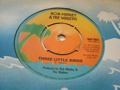 BOB MARLEY & THE WAILERS - THREE LITTLE BIRDS (dont worry be happy!) UK 1977