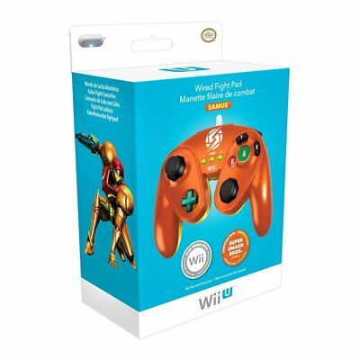 PDP Wired Fight Pad for Wii U: Samus [Nintendo Wii U Controller Remote Metroid]