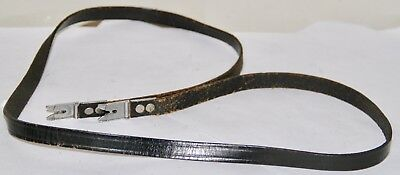 Rolleiflex TLR Leather Neck Strap For T, E and F Models