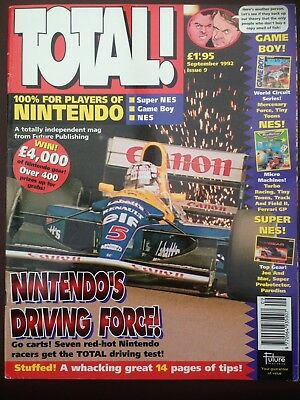Total Nintendo Magazine Issue 9 September 1992