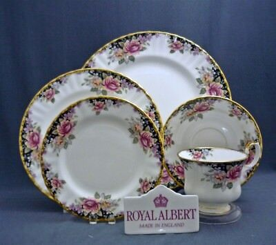 Royal Albert England Concerto Pattern Bone China 5 Piece Place Setting (s)