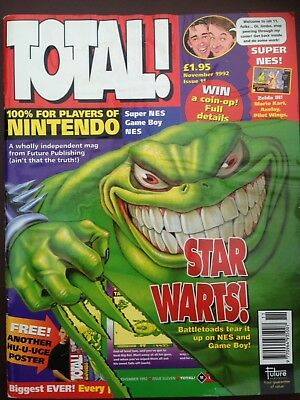 Total Nintendo Magazine Issue 11 November 1992