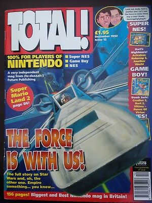 Total Nintendo Magazine Issue 12 December 1992