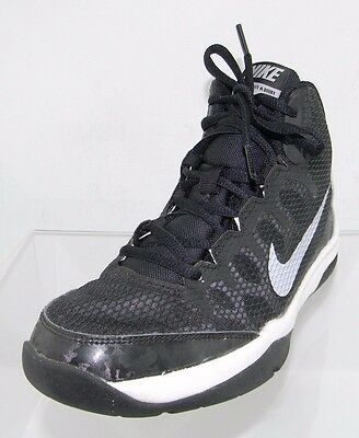Boy s Nike Air Without A Doubt 759982 002 Black Basketball Shoe Size 4 Youth f4df17ddc