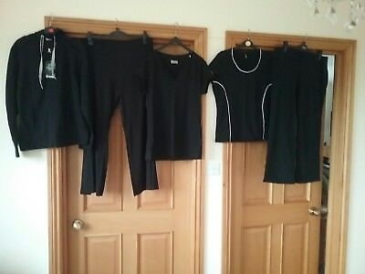 bundle of ladies clothes size 20 gym tops leggings lotto, marks and Spencer
