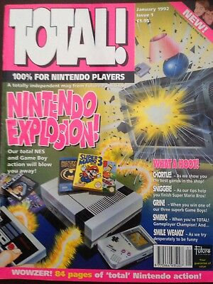 Total Nintendo Magazine Issue 1 January 1992