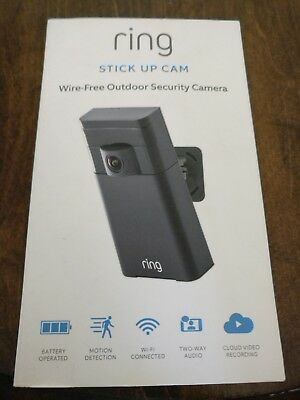 Ring Stick Up Cam Wireless Outdoor HD Security Camera with 2 Way Audio System