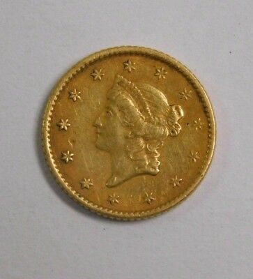 1853 Type 1 $1 Gold Coin, AUCTION! Old U.S. Gold!