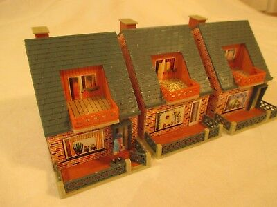 3 x POLA/FALLER? DETACHED HOUSES. READY BUILT KITS. HO/OO