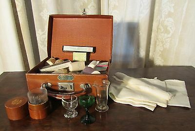 WWII Leather Case First Aid Medical Equipment
