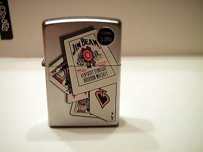New without Box Jim Beam Bourbon Playing Cards Zippo 06