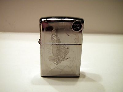 New without Box American Bald Eagle Etched Zippo 10