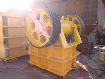 New PE200 X 350 Universal Jaw Crusher +2 Jaw Sets Without Motor Shipped by Sea