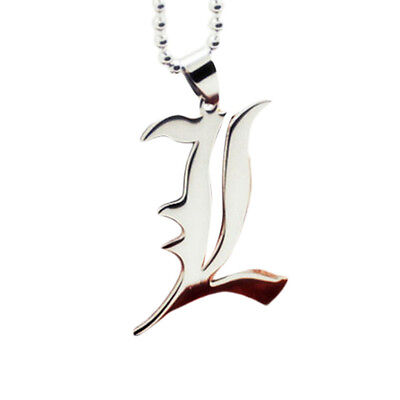 DEATH NOTE L elle collana necklace halskette light misa ryuk diario favij manga