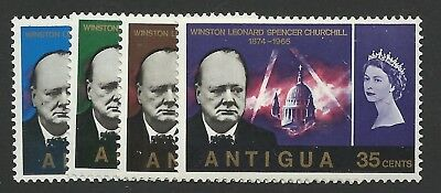 ANTIGUA 1966 Churchill set UM