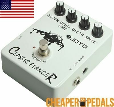 NEW JOYO JF-07 CLASSIC FLANGER Pedal Flange FREE Priority Shipping! *US Seller*
