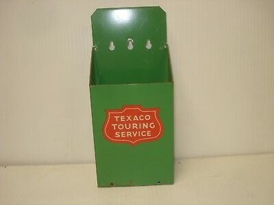 Texaco Vintage Gas Station Map Holder