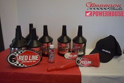 Harley Davidson Fat Boy Red Line Full Synthetic Oil Change Kit and Extras