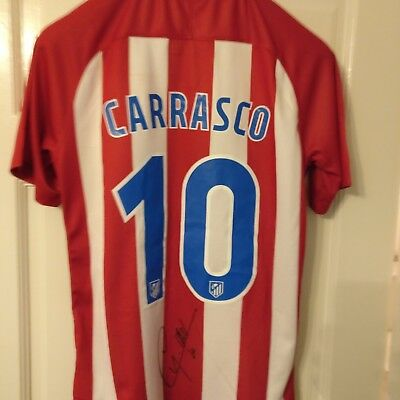 Yannick Carrasco Signed Shirt  Atlético Madrid/ Belgium