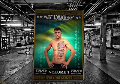 Vasyl Lomachenko Boxing DVD Career Collection (Vol.1)