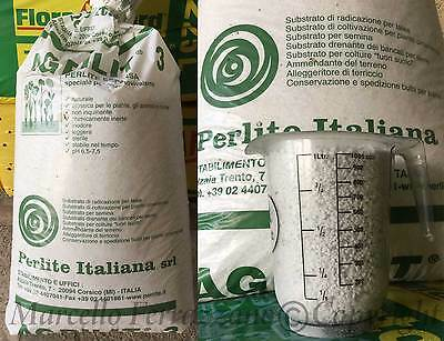 PERLITE ESPANSA AGRIPERLITE - 10 LITRI VOL 2-6 mm