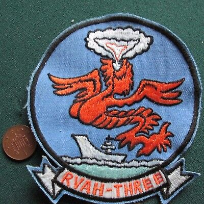 Us Navy Squadron Patch (Rvah 3)