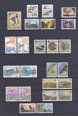 Europa Cept Lot 1986 - Nature & Art, Different Countries, Mnh