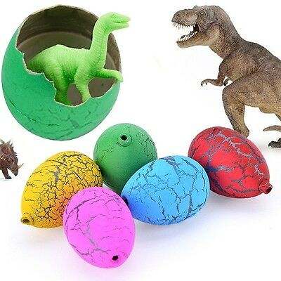 5pcs Growing Dinosaur Eggs Hatching Egg Add Water Magic Children Kids Toy