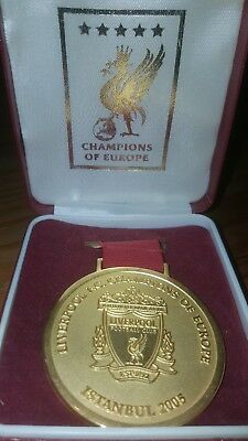 Liverpool Fc Official 2005 Champions League Winners Medal