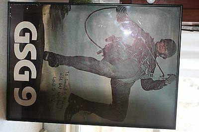 GSG9/Military/Swat/History/autographed poster