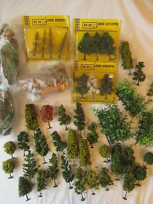 Riko & Others: Good Lot Of Mixed Trees , Cork & Scenic Materials. 0, 00, N. (1)