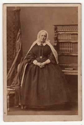CDV Lady Smith by Camille  Silvy c1862 Noble Lady nice research