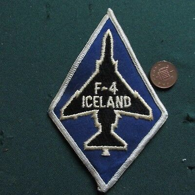 Us Air Force Patch (F-4 Iceland)