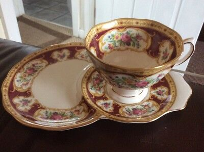 😊Royal Albert cup and plate (Lady Hamilton) £8 Postage