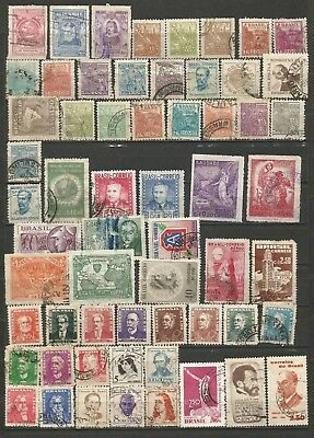Brasil  Brazil 1941-1955  Lote Mixto Mixed Lot (Mh/us)